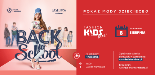 Fashion Kids Show - Back To School